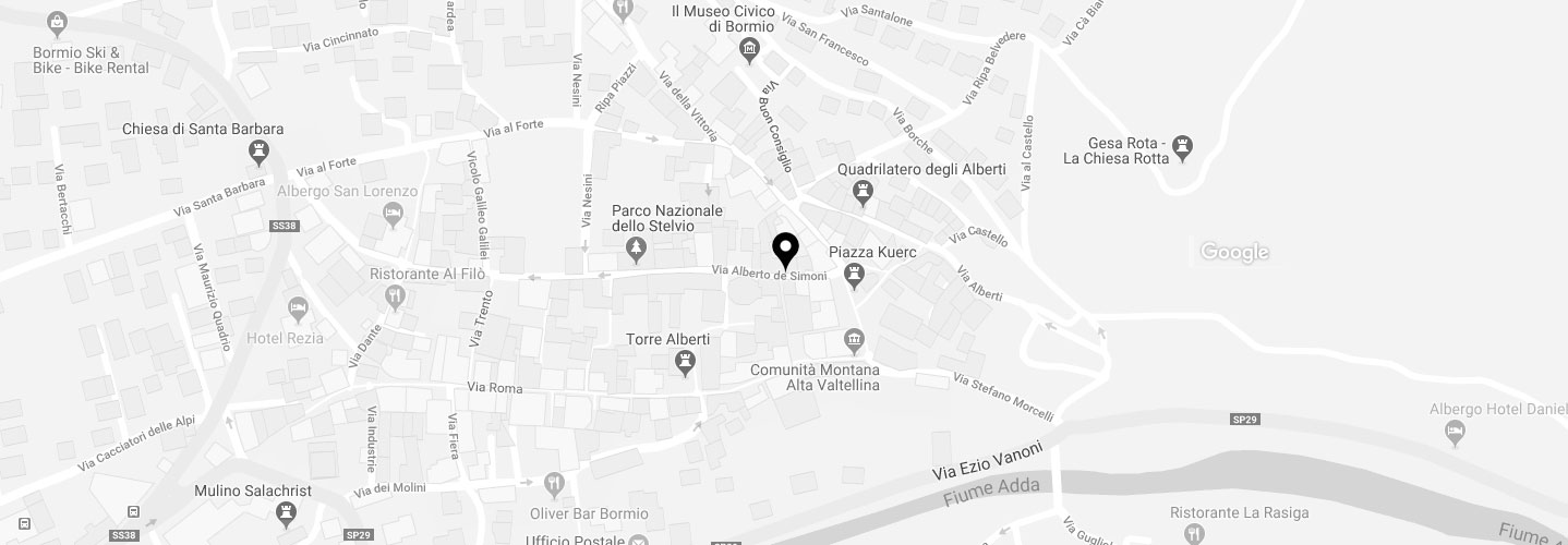 mappa magnificat bormio